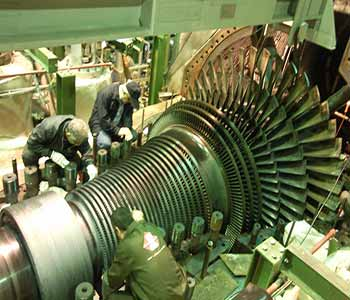 Steam Turbines large